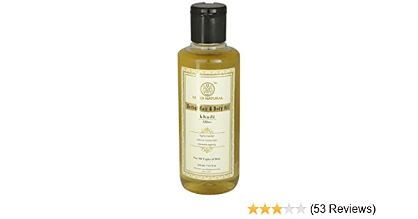 Buy Khadi Natural Olive Oil 210ml Online At Low Prices In India