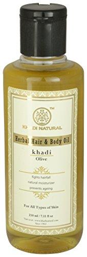 Khadi Natural Olive Oil, 210ml
