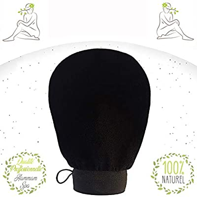 Guante exfoliante Kessa-Nouméro-Black ideal