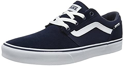 Vans Chapman Stripe, Chaussures de Running Homme, Bleu (Dress Blues/Whitesuede/Canvas), 42.5 EU