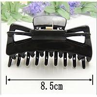 ddoq Frauen Kunststoff Butterfly Style Haarspange Haarklammer Clip 8,5* (schwarz) preisvergleich bei billige-tabletten.eu