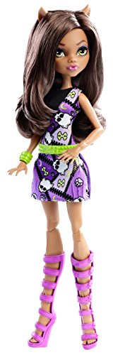 Image of Monster High DNW89 Clawdeen Wolf Doll