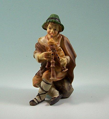 Hirte mit Dudelsack, geeigenet für 11cm Figuren
