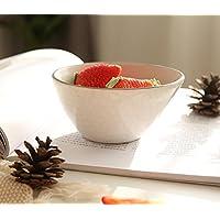 AGECC Vajilla De Cerámica Recipiente Bowl Cuenco De Arroz Y Tazón De Desayuno