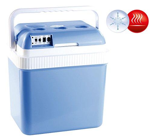 Xcase Kühlboxen: Thermoelektrische Kühl- und Wärmebox, 24 l, 12 & 230 V Anschluss (Elektrische Kühl und Wärmeboxen)