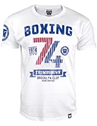 Boxing T-shirt. Thumbs Down Boxing Club. Brooklyn Club. Hard Knocks. Heavyweight Champion. Boxe Martial Arts. MMA T-shirt