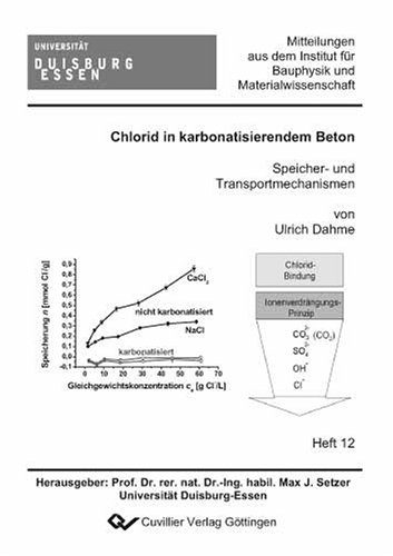 Chlorid in karbonatisierendem Beton: Speicher- und Transportmechanismen