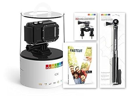 activeon bcc03hs CX Bundle Option 3Full HD Caméra de sport