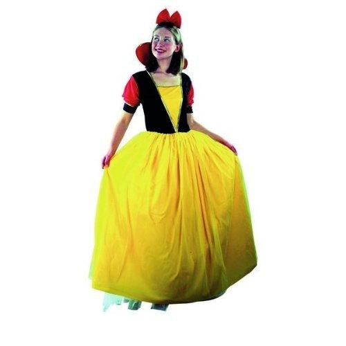 hsenenkostüm Schneewittchen, Größe M (Dornröschen Blaues Kleid Kostüm)
