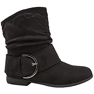 Elara Women Ankle Boots Lined Chunkyrayan