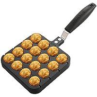 Olla Pequeña de 16 Agujeros Para Pulpo Casero Formas takoyaki Pancake Maker Molde Para Hornear Grill Pan Placa Bola de Pulpo Antiadherente Takoyaki