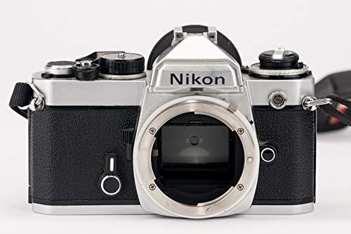 Nikon FE Body Gehäuse Spiegelreflexkamera SLR Kamera in silber schwarz