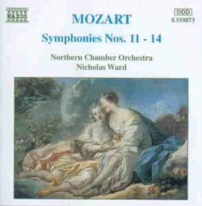 Mozart Sinfonien 11 bis 14 Ward