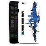 DeinDesign Hülle kompatibel mit Apple iPhone 6 Plus Handyhülle Case HSV Hamburger SV Fanartikel Merchandise
