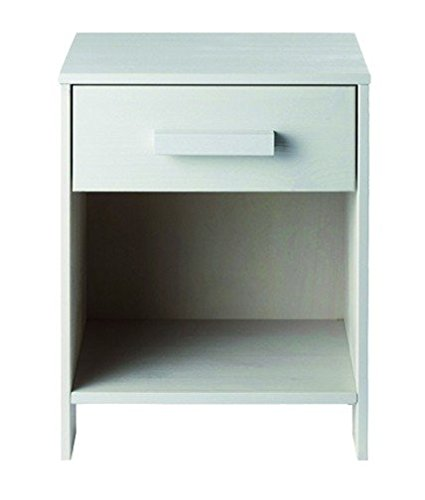 Alfred & Compagnie Soldes Chevet bois massif blanc