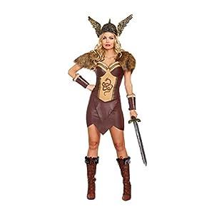 DreamGirl-10222voraces Viking disfraz de hembra (pequeño)