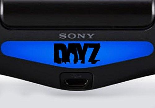 playstation-ps4-lightbar-adesivo-invertiert-inquadratura-nero-nero-day-z-schwarz