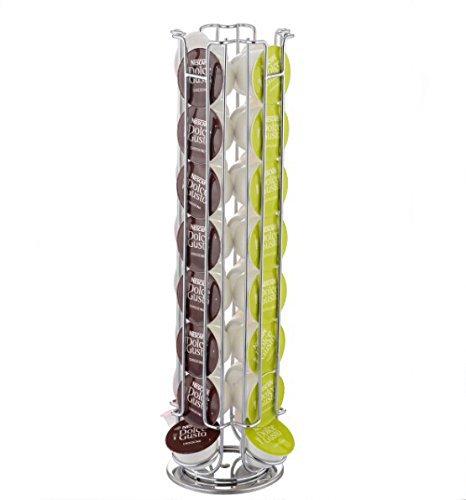 savingplus 32rotación de cápsulas de café soporte para cápsulas Torre soporte rack para Dolce Gusto