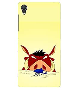 Doyen Creations Designer Printed High Quality Premium case Back Cover For Sony Xperia Z2