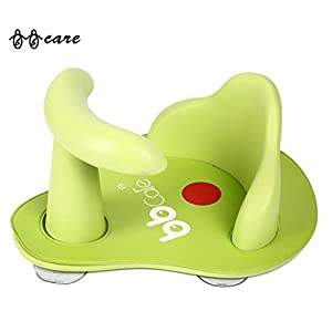 BBCare Baby Safety Bath Seat with Mini Soft Mat and Hot Spot(Green)