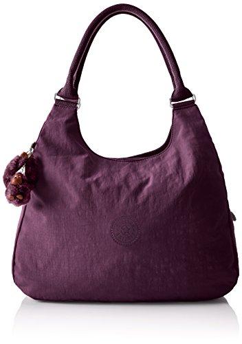 Kipling Bagsational, Sacs bandoulière femme, Violett (Plum Purple), 39x34.5x16 cm (B x H T)