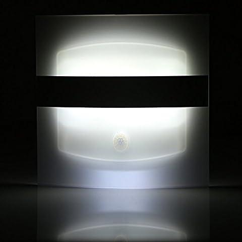 FEI&S Camera da letto luce da parete nichel spazzolato in vetro smerigliato maschera Lampada di cortesia #11