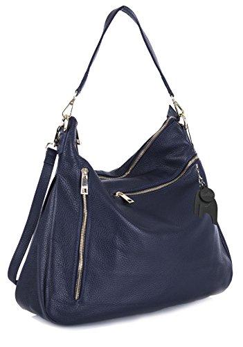 Big Handbag Shop, Borsa a mano donna Taglia unica Navy