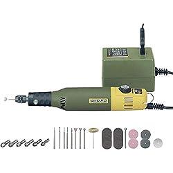 Proxxon 28515 Modellbauer- und Gravierset mit Bohr- und Fräsgerät MICROMOT 50/E
