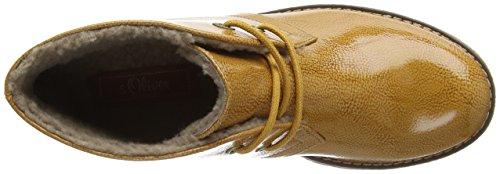 s.Oliver 26111, Desert Boots Femme Jaune (Corn Patent 607)