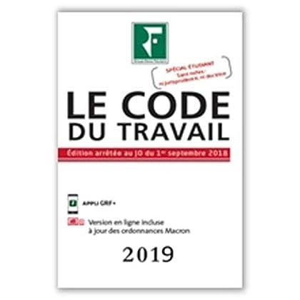 Le Code du Travail 2019