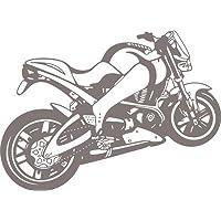 Adesivo da parete Moto Speed Bike Decorazione