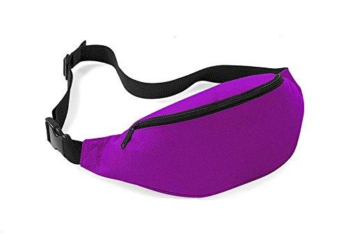 DK. Van Outdoor Reise Taille Tasche Multifunktional Sport Laufen Wandern Taille Pack Violett