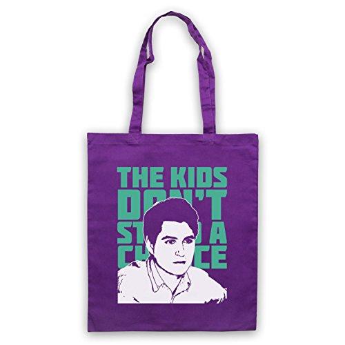 Inspiriert durch Vampire Weekend The Kids Don't Stand A Chance Inoffiziell Umhangetaschen Violett