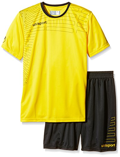 uhlsport Herren Match Team Kit (Shirt&Shorts) Ss Gelb