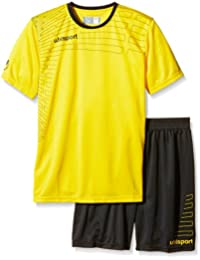 uhlsport Herren Match Team Kit (Shirt&Shorts) Ss