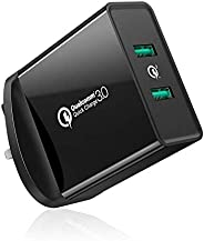 UGREEN Quick Charge 3.0 USB Charger, 36W QC 3.0 Wall Charger Adapter FCP USB Fast Charge for iPhone X 8, ipad,