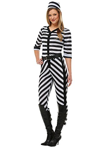 Frauen Jailbird Beauty Plus Size Kostüm - 2X