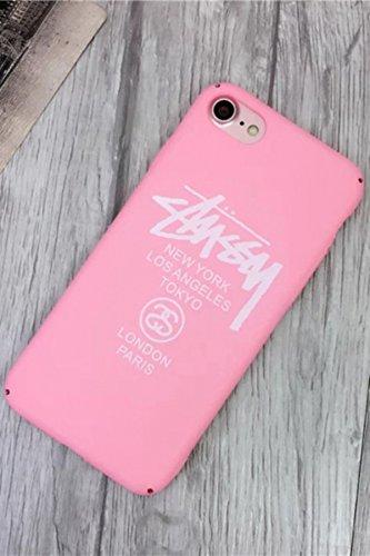 2230969236e TN Cases Store Coque iPhone 6 6S Stussy Supreme Rose et Blanc Plastique  Rigide