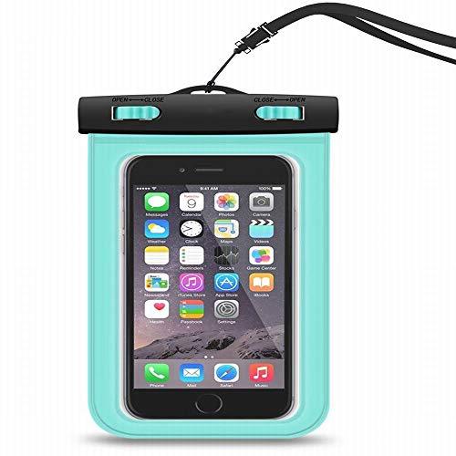 JZLBYZWM Outdoor-Sport Telefon wasserdichte Tasche versiegelt transparent