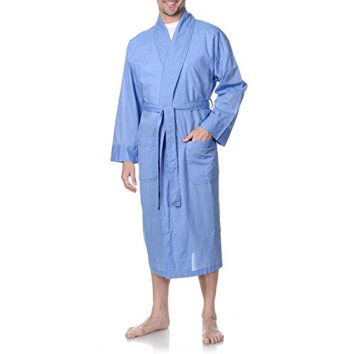 Hanes Herren-robe (Herren Big & Tall Schal Robe Blau 3X / 4X)