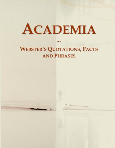 Academia: Webster's Quotations, Facts and Phrases