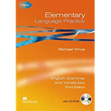 Elementary Language Practice. Student's Book with CD-ROM and key: English Grammar and Vocabulary