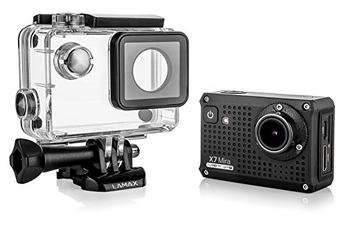 Price comparison product image LAMAX X7 Mira Action Cam Sports Camera Full HD 1080p with WIFI and Many Accessories (including 2 Batteries)