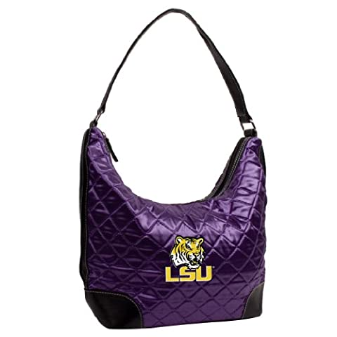 NCAA Louisiana State University Team Color Quilted Hobo