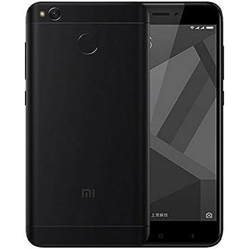 """Xiaomi Redmi 4X Smartphone 5"""" 4G 32GB Doble Sim, Con Google Play [Version Europea] Negro"""