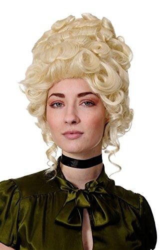 WIG ME UP - Qualitätsperücke Perücke Rokoko Barock Adlige hellblond platinblond Beehive Turmperücke GFW1675-613 Marie Antoinette