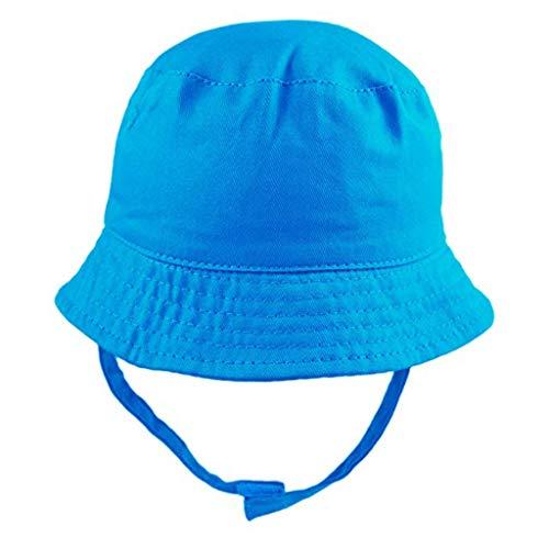 Niña niño algodón Pescador Sombrero Protector Solar