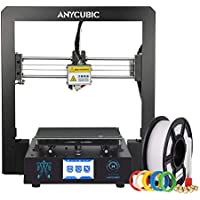 ANYCUBIC 3D Printer Pre-assembled with Ultrabase hotbed and Touch Screen Large Print Size, Works with PLA, ABS, HIPS, WOOD