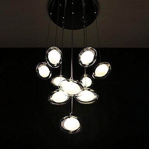 BBSLT Art LED estilo Pez araña , 10 head /LED de luz amarilla.