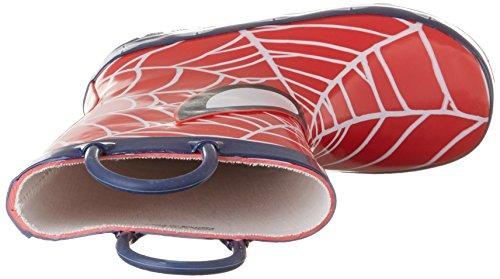 Spiderman Sp003650, Bottes de Pluie garçon Rot (H.RED/Navy 521)